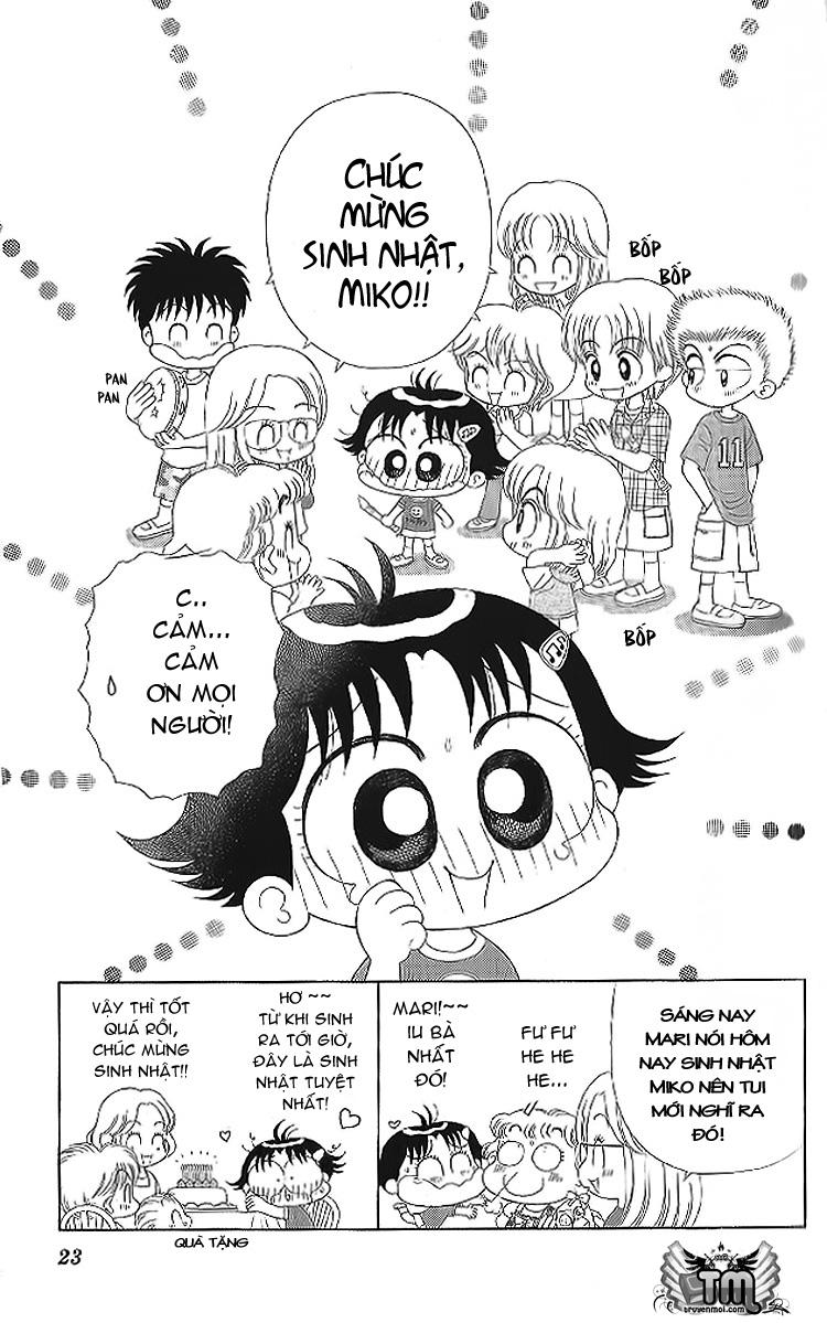 Kocchi Muite! Miiko chap 10 - Trang 22