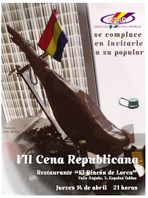 VII Cena Republicana Granadina