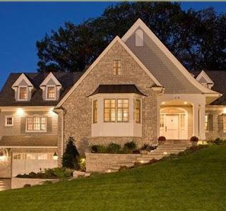 Fachadas de casas ver plano de casas for Casas estilo americano interiores