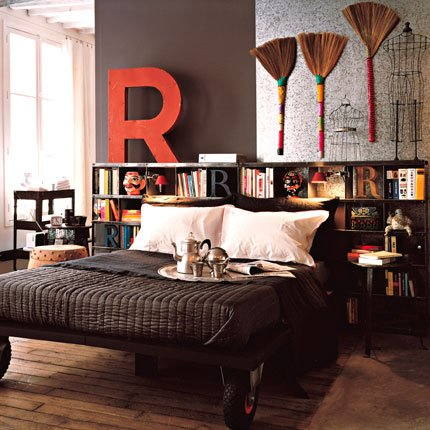 Mueble como Cabecera de la Cama ~ Decorar Tu Habitación