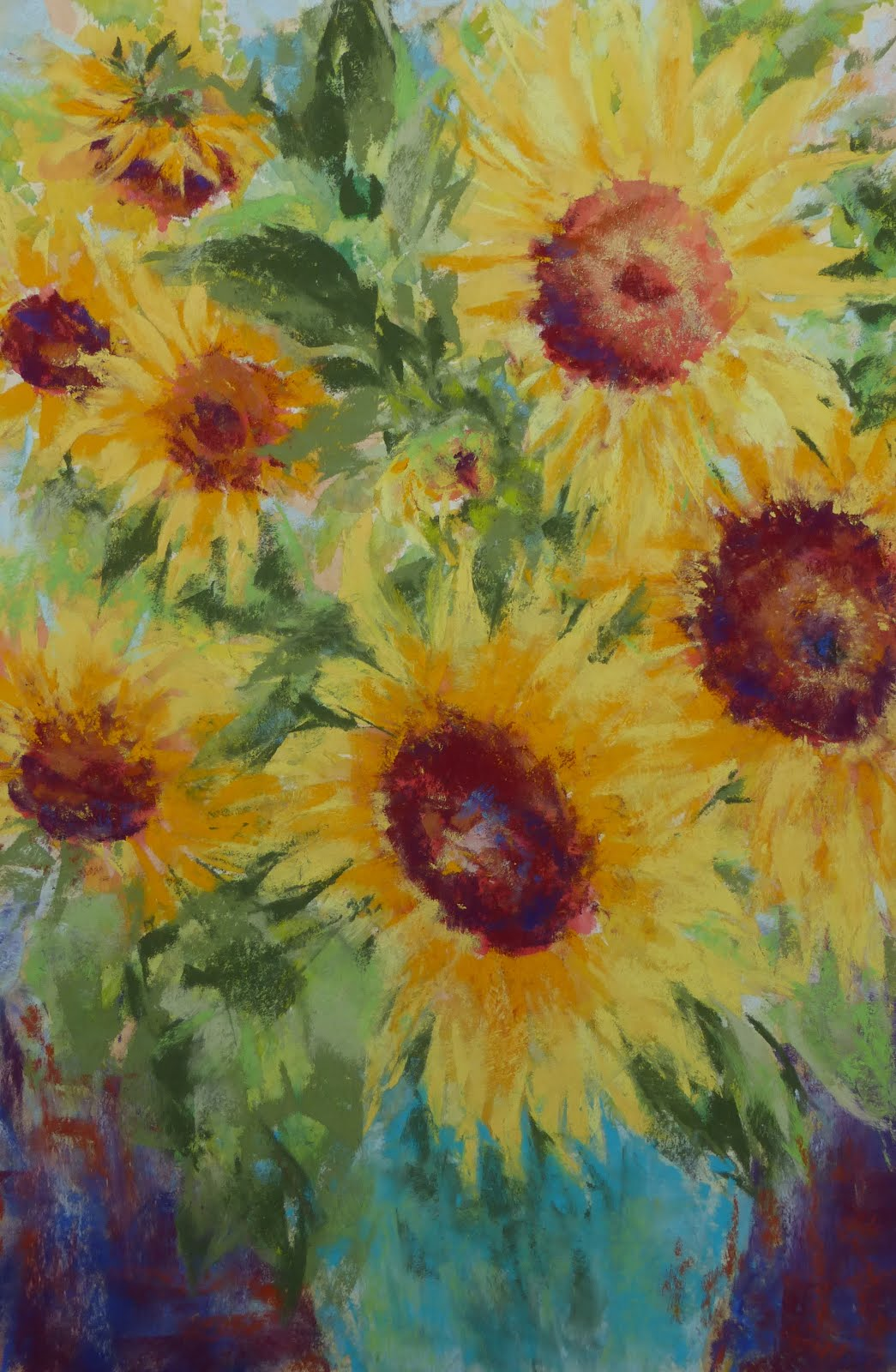 August 2018 Exhibit at Art Hallway at Providence Benedictine Nursing Center, Mt Angel, OR
