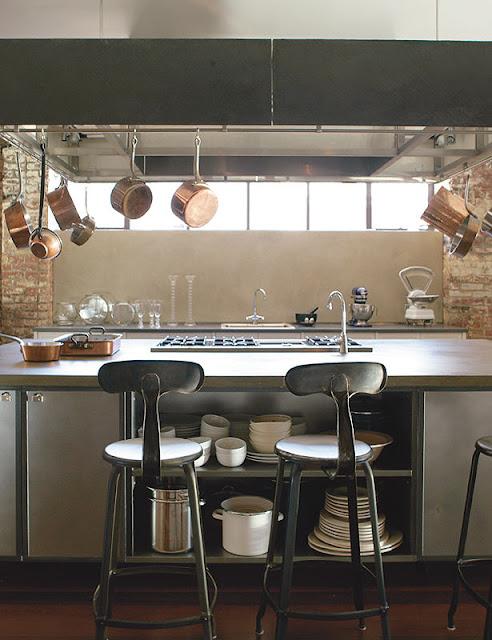 Decor me casas de famosos la vivienda retro de marcus nispel - Cocinas de famosos ...