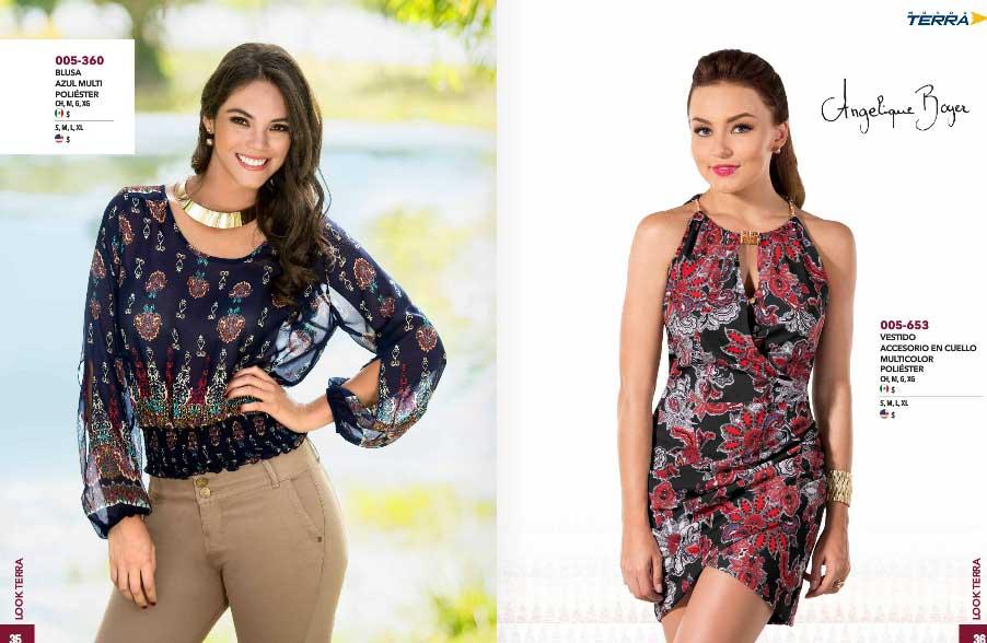 Mundo terra catalogo de ropa vestidos blusas 2017 for Catalogo bp 2017