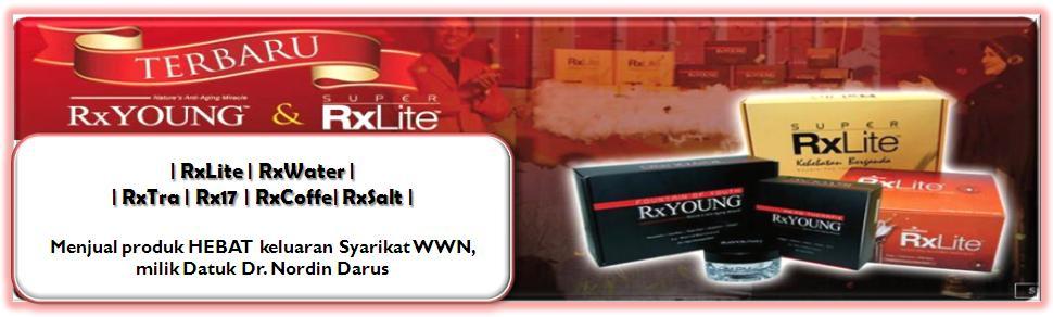 | RxLite | RxWater | RxTra | Rx17 | RxCoffe |