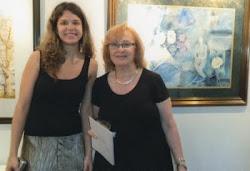 ADRIANA Y ANA EN LA MUESTRA DEL TALLER