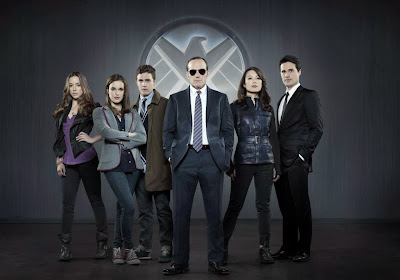 Cast photo of Marvel's Agents of SHIELD tv show