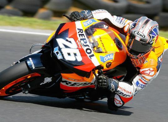 Dani Pedrosa Meraih Pole Position Kualifikasi motoGP 2012 Le Mans