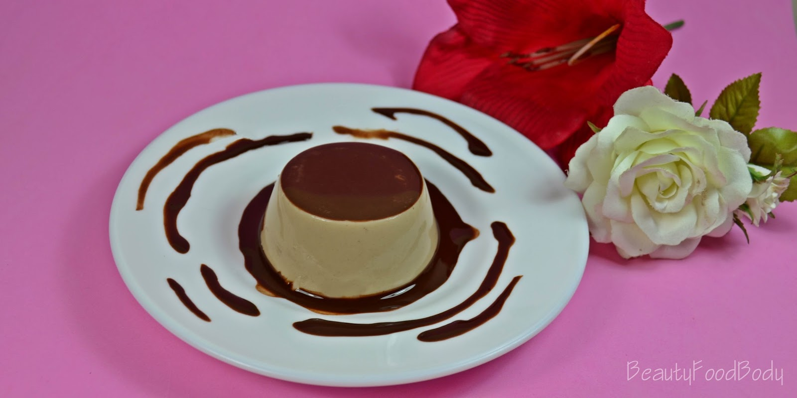 Beauty food body rubibeauty receta fitness flan proteico chocolate