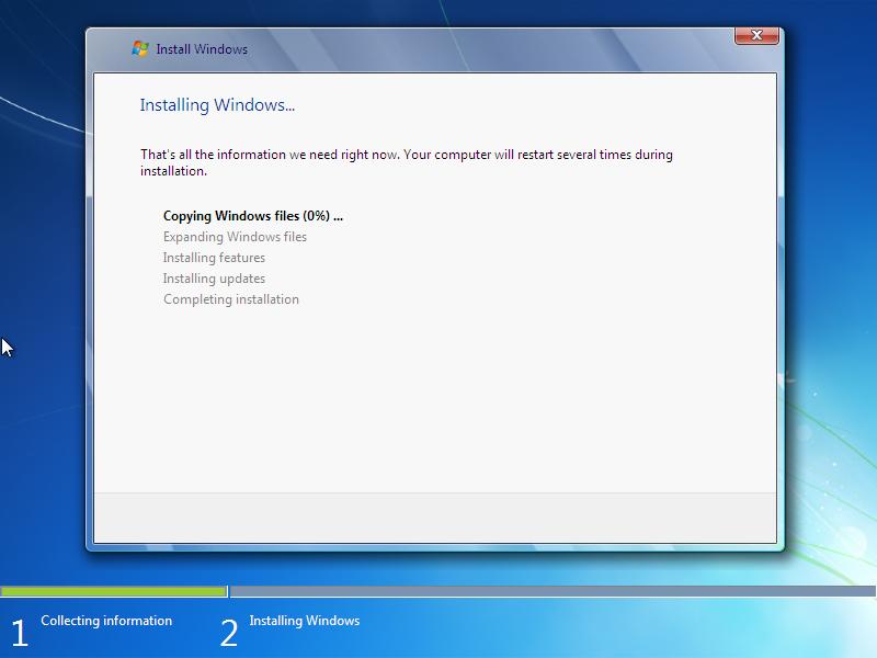Cara Install Windows 7 (Lengkap Dengan Gambar) 8