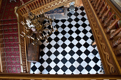 The hallway, Belton House © regencyhistory.net