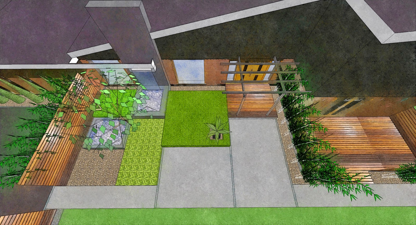 Garden Design Birds Eye View garden designer in the hull area, beverley, east yorkshire, north