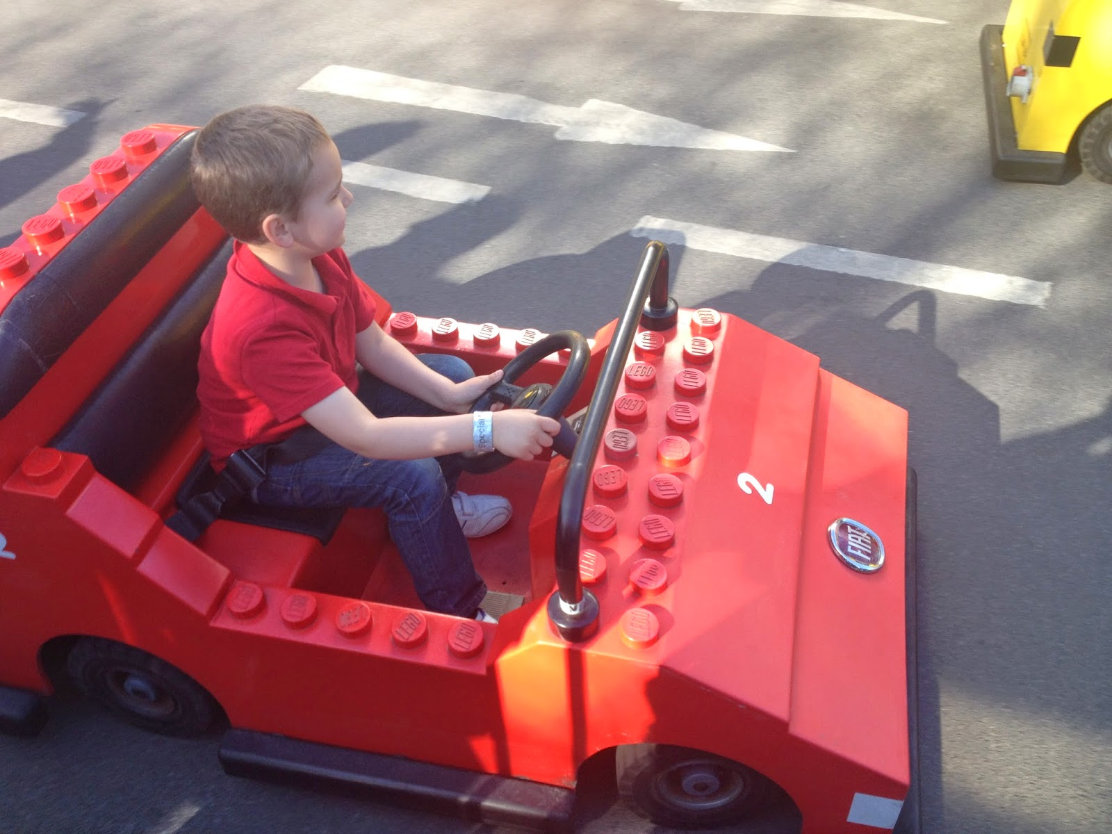 Big Boy driving at LEGOLAND Windsor