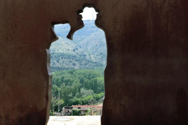 Machado y Leonor en Soria, España. Por Viaja et verba