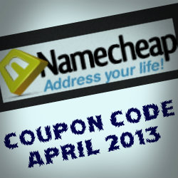Coupon Code Namecheap April 2013