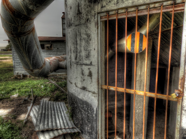 No Label - Silo Door - HDR - Katy, Texas