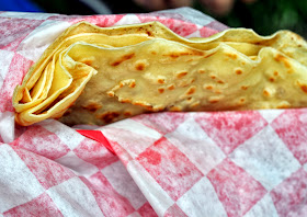 Moravian Sugar Cake Crepe - Full of Crepe - Bethlehem, PA | Taste As You Go