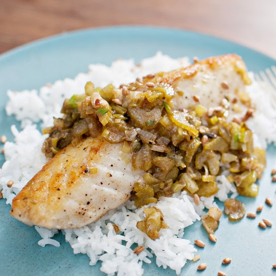 Nee 39 s place cod brown butter lemon aged fish sauce for Is cod fish kosher