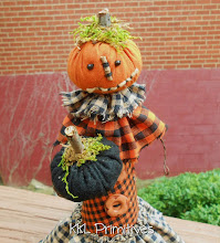 WHIMSICAL PUMPKIN CONE DOLL