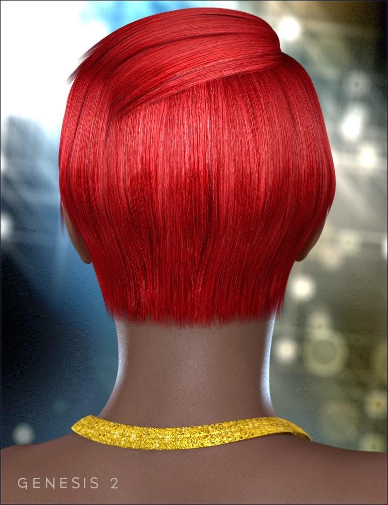 Serena cheveux