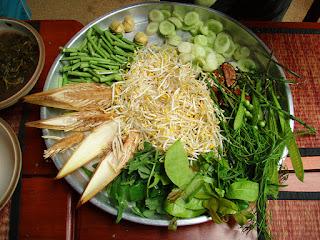Thai restaurant wild edible plants