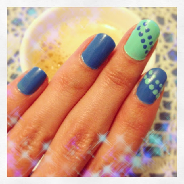 kiko nails blue instagram