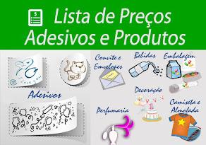 Veja nossa lista de Preços e Produtos