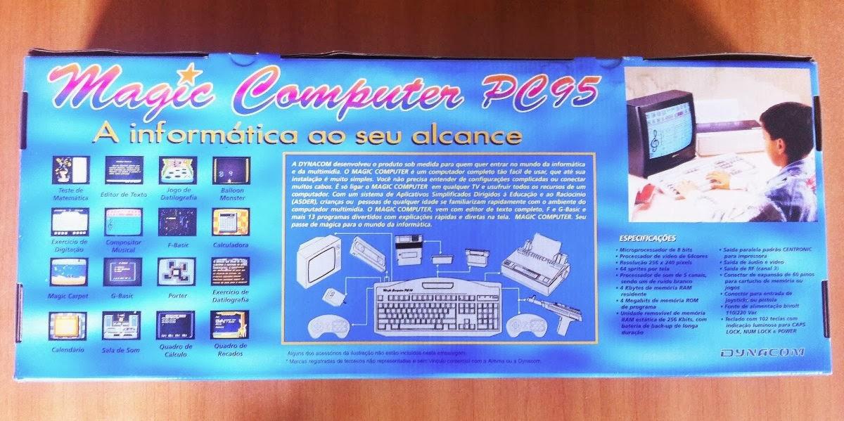 retrogamer nes magic computer pc95 dynacom videogames e computadores parte 3. Black Bedroom Furniture Sets. Home Design Ideas