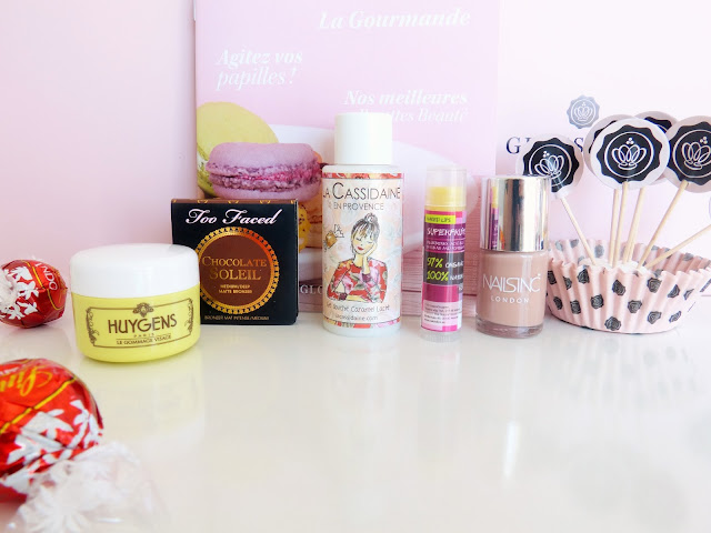 Glossybox Lagourmande Glossy Glosybox Octobre Too Faced Chocolate