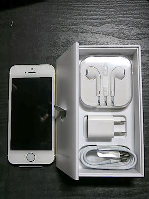 iPhone5s内容物