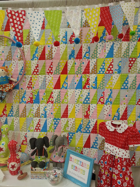 backyard circus fabric