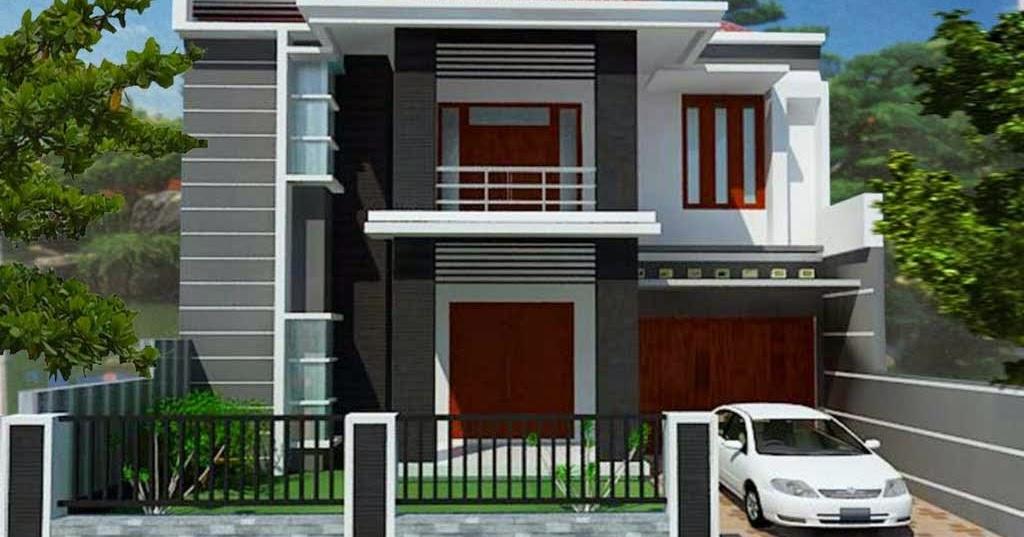 gambar model rumah minimalis bagian depan yang menarik dan