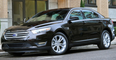 2013 Ford Taurus black