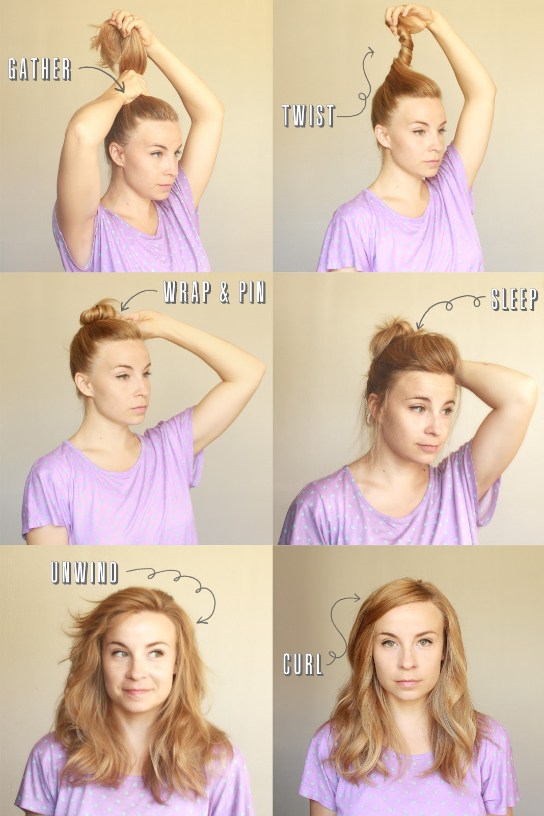 220 Ber Chic For Cheap Hair Tutorial Spin Pin Waves