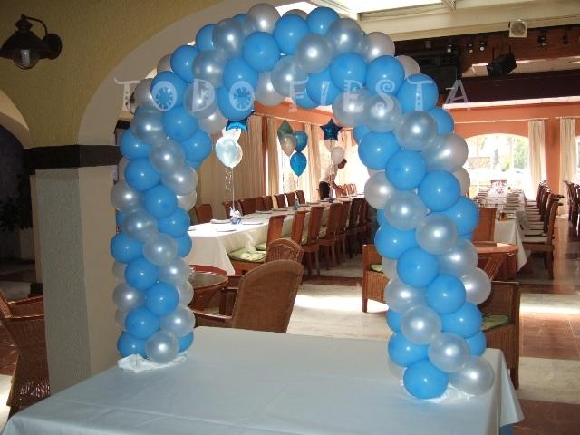 Decoración con globos de Todo Fiesta: DECORACIONES PARA 1ª COMUNIÓN