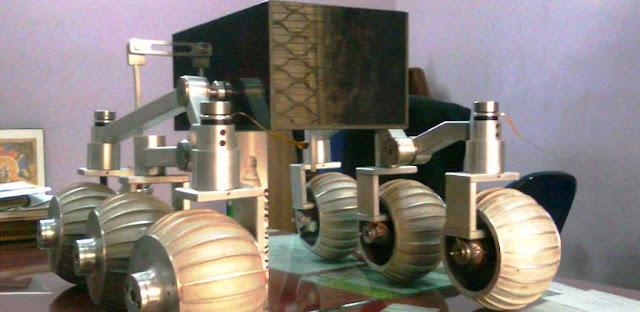 Prototype of Chandrayaan-2 Rover