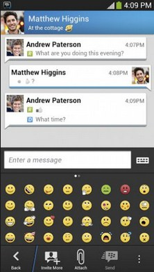 Free Download BBM 2.5.1.46 APK for Android