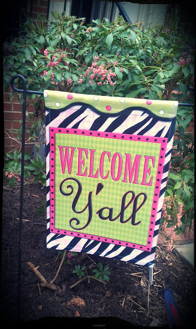 Keepin It Thrifty Welcome Y 39 All Flag
