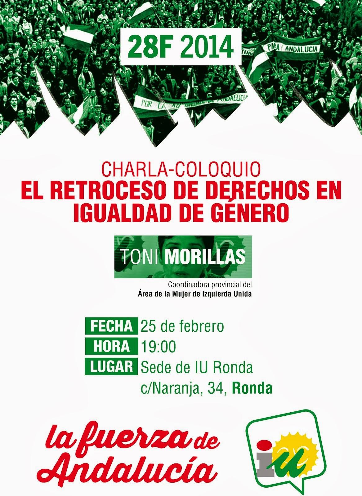 Charla Coloquio: Políticas de Igualdad