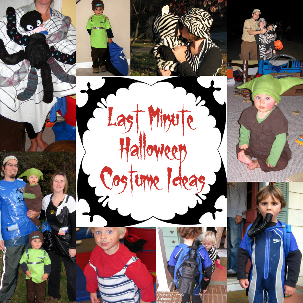 birthing me: last minute kid and family halloween costumes