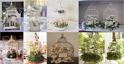 esempi di gabbie per uccelli decorative birdcage examples