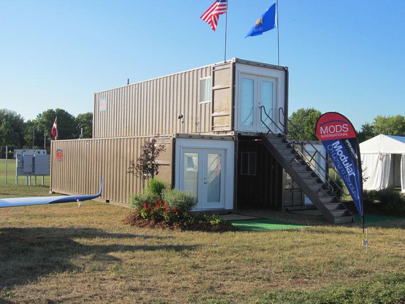 Casas contenedores mods viviendas modulares hechas con - Casas prefabricadas contenedores ...