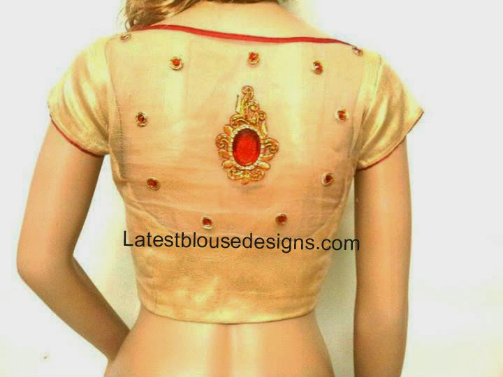 blouse with transparent net cloth