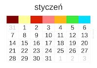 kalendarz 2013 - styczeń