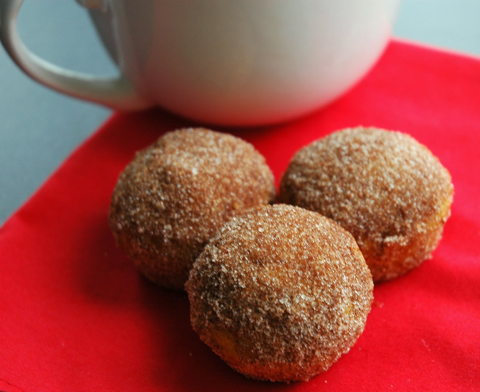 Spice Girl: Baked Pumpkin Spice Donut Holes