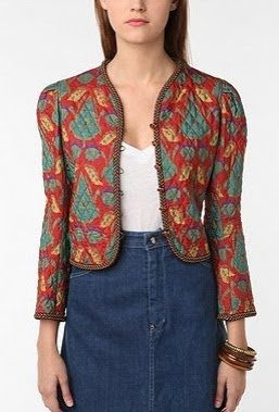 Vintage '90s Yves Saint Laurent Quilted Blazer