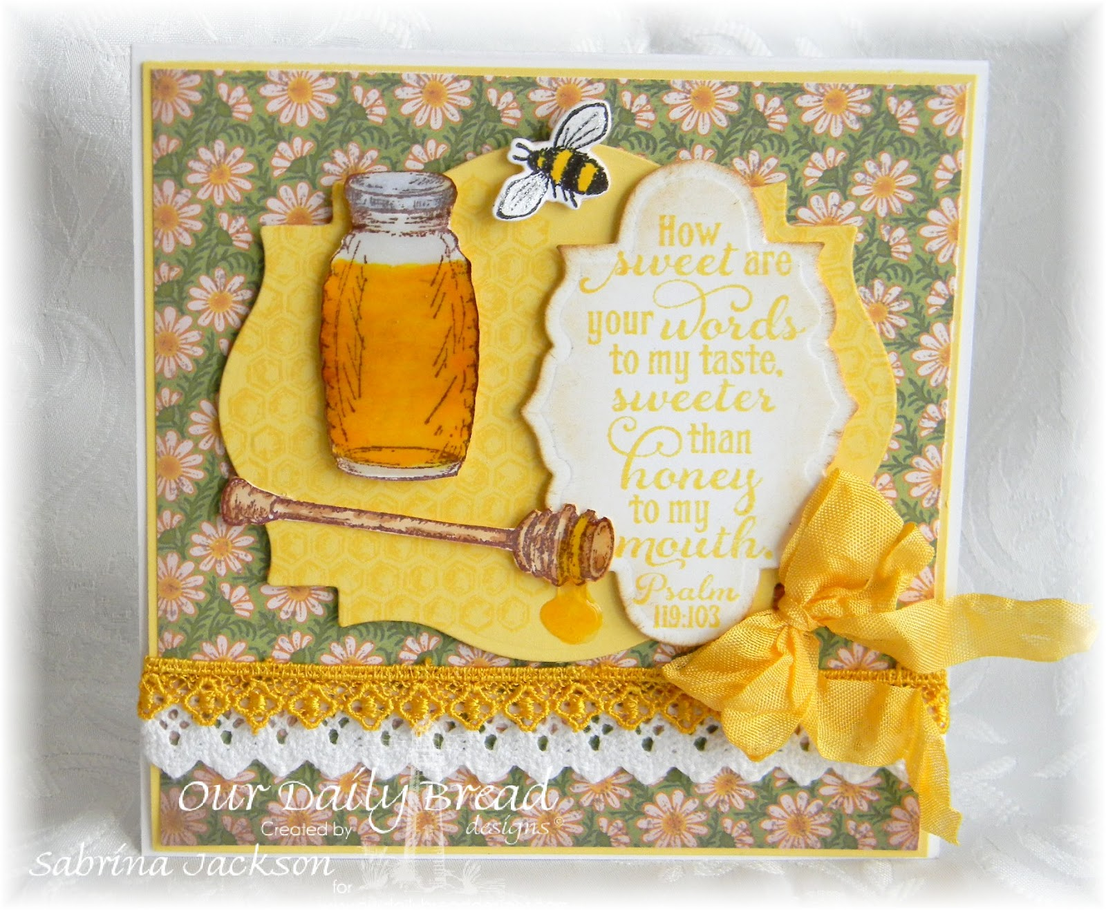 Stamps - Our Daily Bread Designs Sweeter Than Honey, Honeycomb Mini, Zinnia, ODBD Custom Zinnia and Leaves Die
