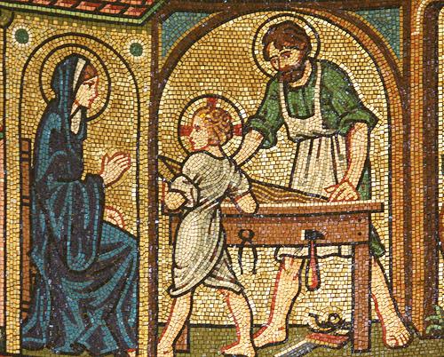 Saint Joseph Travailleur dans images sacrée st+joseph+the+worder
