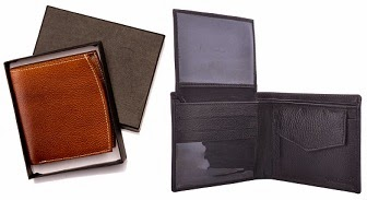 Waanii Men's Leather Wallet: Buy 1 Get 1 Free – Get 2 Wallets for Rs.349 Only (Rs.175 each)