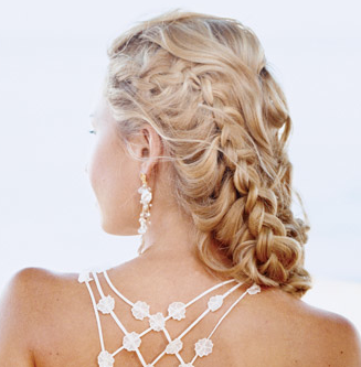 Side Braid Prom Hairstyles for Long Hair