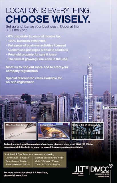 JLT Free Zone in India: Set up and license your business in Dubai at the JLT Free Zone